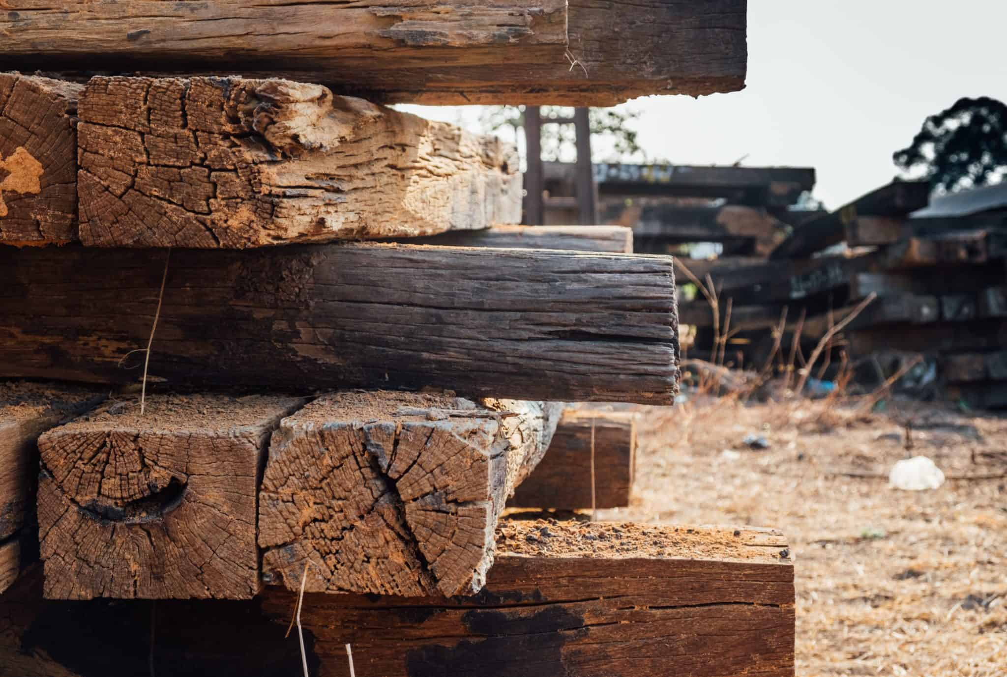 "Featured image for ""What Are Railroad Ties Treated With? Made of and types"""