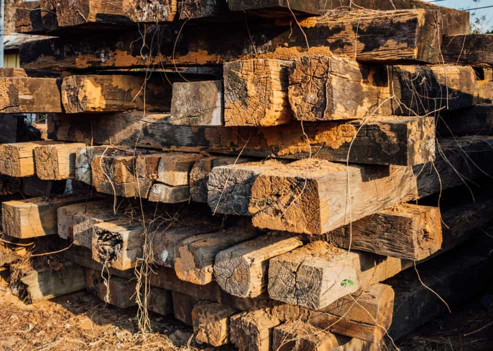 How To Get Free Railroad Ties Not So Easy And Not So Fast