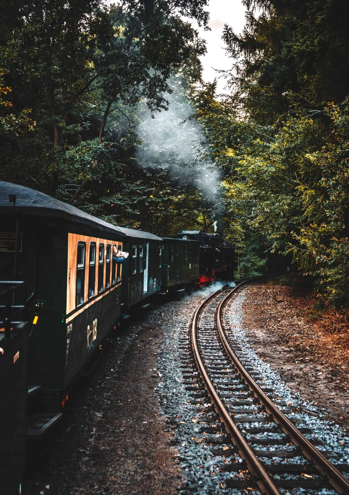 steam engine train rides in Virginia and West Virginia