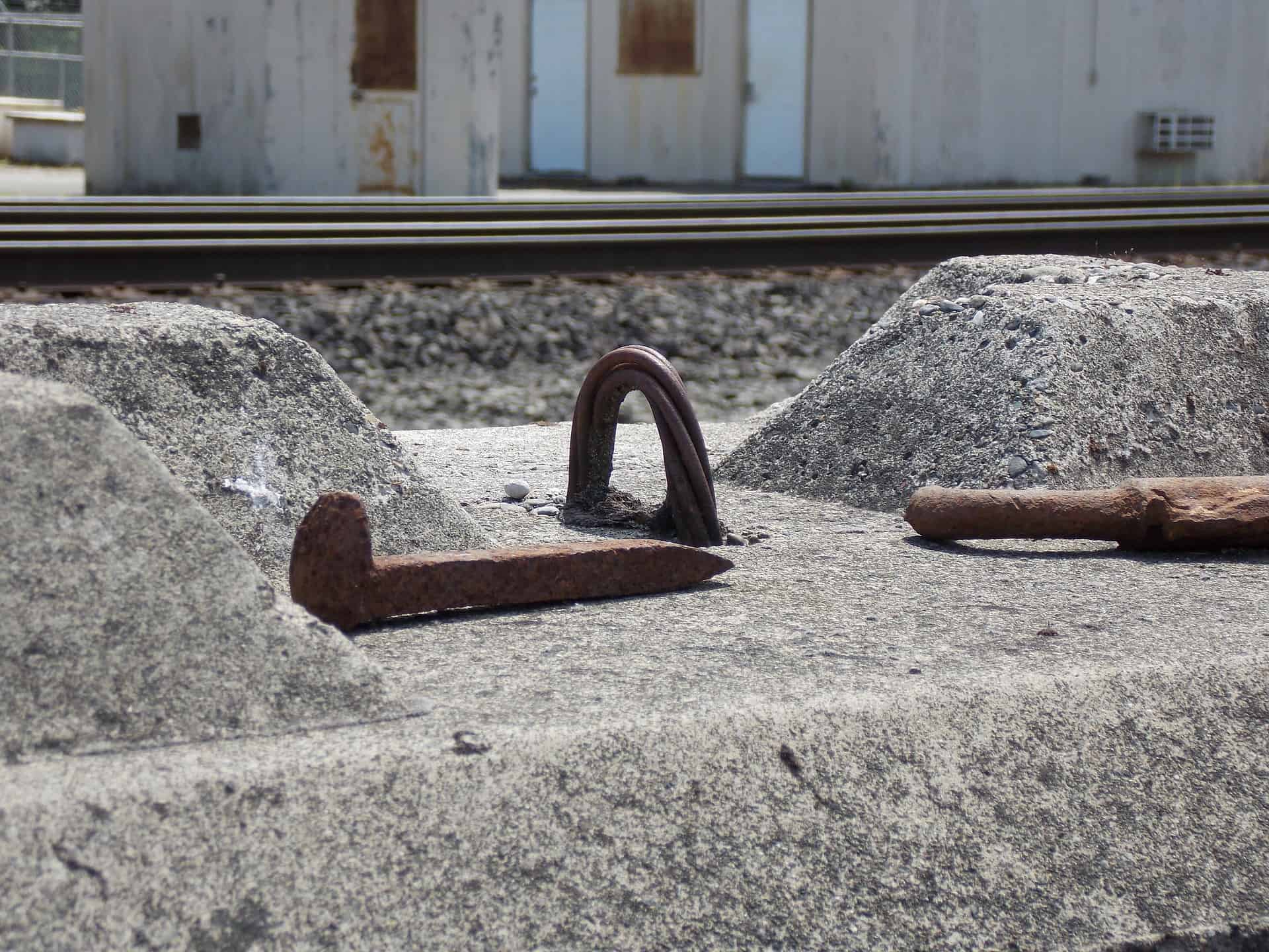 "Featured image for ""How To Clean Rusty Railroad Spikes – Cheap and Easy"""